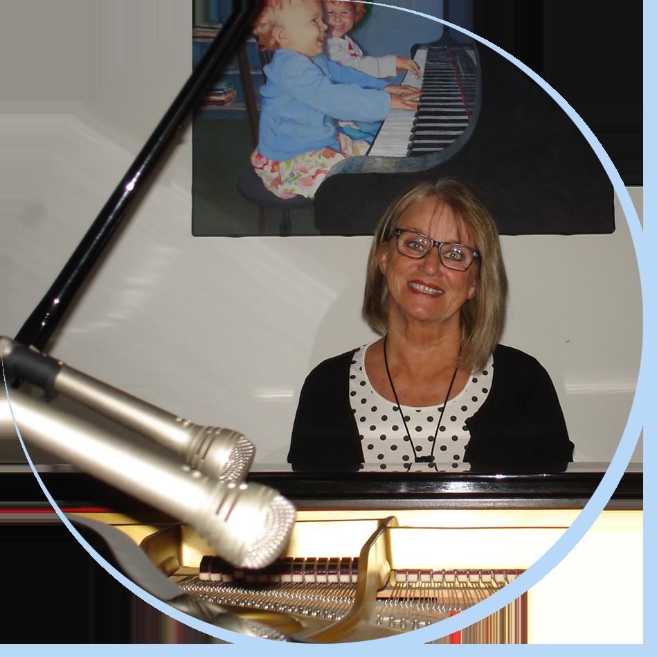 Wilma Lubbers, Pianoles Renkum